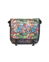 Abbigliamento - Borsa a tracolla - marvel: All over comic style