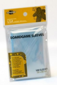 Accessori Cards - 100 card sleeves - board game: 58 x 88 mm - usa