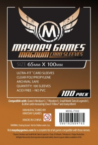 Accessori Cards - 100 card sleeves - board game: 65 x 100 mm - copper