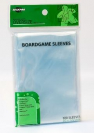 Accessori Cards - 100 card sleeves - board game: 82 x 122 mm - oversize