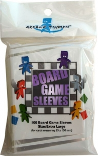Accessori Cards - 100 card sleeves - board game: 65 x 100 mm - extra large