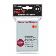 Accessori Cards - 100 card sleeves - buste protettive per cards: Clear - 64 x 89 mm - side-load