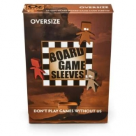 Accessori Cards - 50 card sleeves - board game: 79 x 120 mm - oversize - non-glare