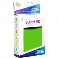 Accessori Cards - 60 card sleeves premium - buste protettive: Matte light green - formato jap 62 x 89