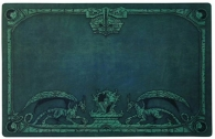 Accessori Cards - Tappetino - play mat 60 x 40cm: Green
