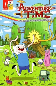 Fumetto - Adventure time n.1