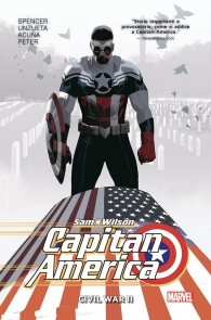 Fumetto - Capitan america: sam wilson - volume n.3: Civil war II