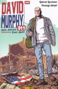 Fumetto - David murphy - 911 - season two - cover a n.1