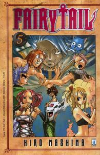 Fumetto - Fairy tail n.5