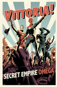 Fumetto - Secret empire omega - variant super fx