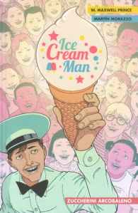 Fumetto - Ice cream man - 100% panini comics hd n.1: Zuccherini arcobaleno