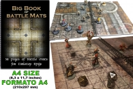 Gioco di ruolo - Big book of battle mats: 58 pages of battlemats for tabletop rpgs