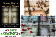 Gioco di ruolo - Giant book of battle mats: 62 pages of battlemats for tabletop rpgs