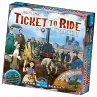 Gioco - Gioco da tavolo - ticket to ride: France