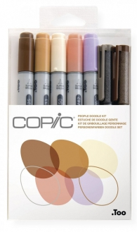 Scrittura e Disegno - Copic - ciao - people doodle kit