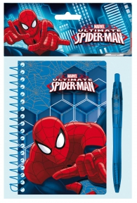 Scrittura e Disegno - Notebook spider-man: Blister note + penna