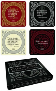 Tazza - Game of thrones: Four quotes coasters set - sottobicchieri