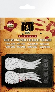 Wallet - The walking death - portatessere: Wings